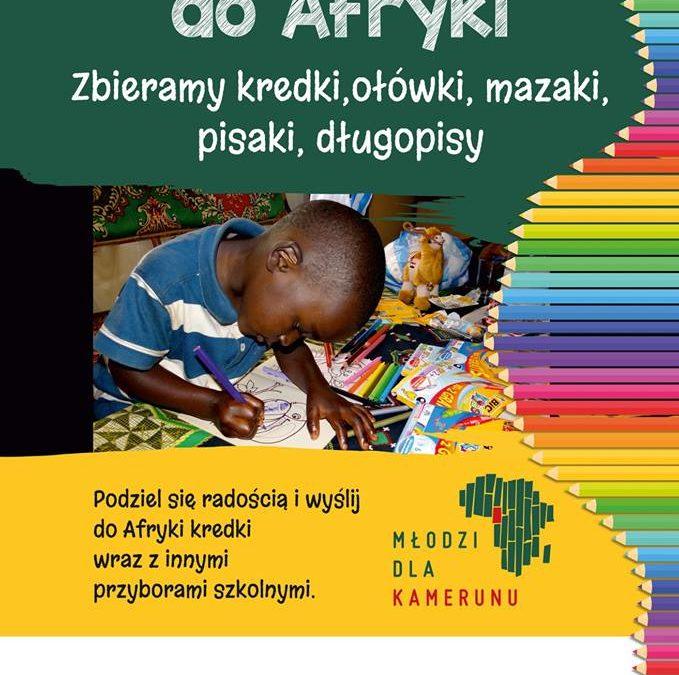 """Tydzień Misyjny – """"wyślij kredki do Afryki"""""""